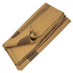 "Vintage Camp Style Blanket - Tan, 60""x80"""