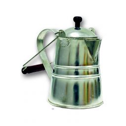 Tinware Coffee Pot - 2 Quart