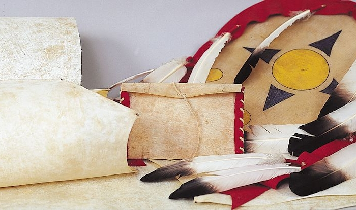 Native American rawhide for crafts and painting