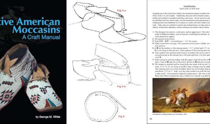 Native American Moccasins, A Craft Manual
