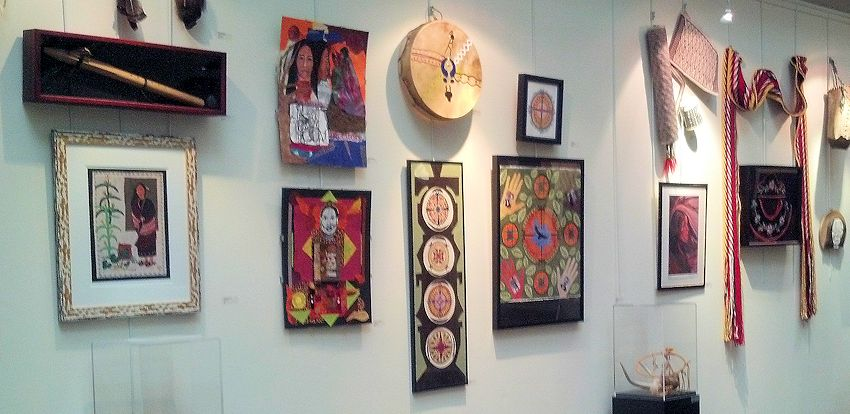 Native American Art Gallery Resources from Crazy Crow