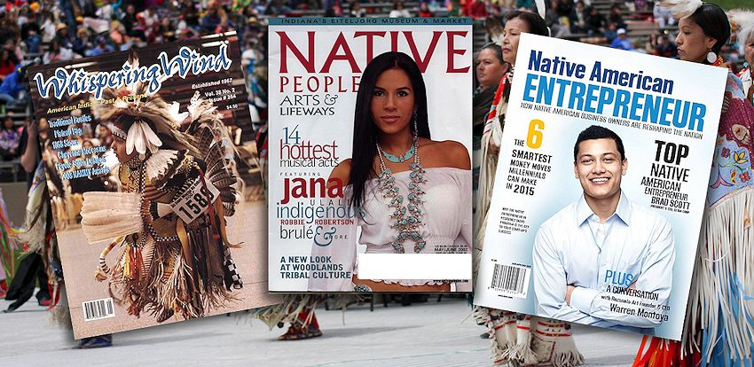 Native American Publications Resources from Crazy Crow