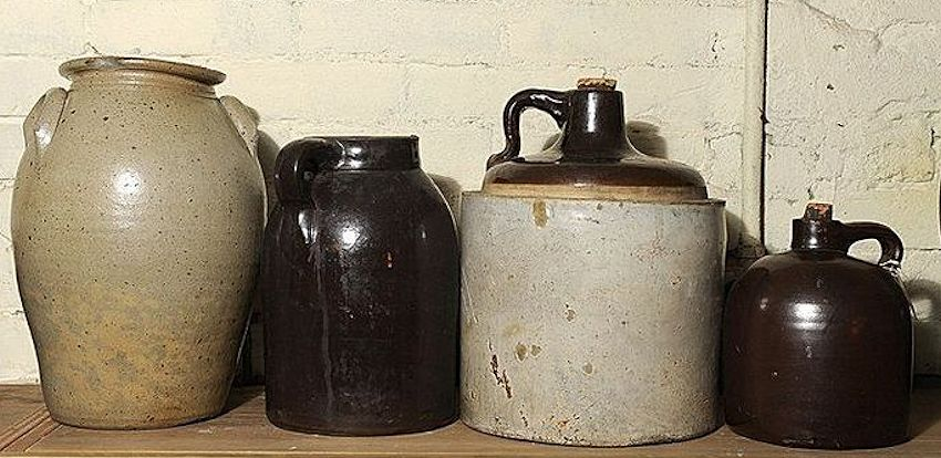 Stoneware Crock Jugs & Alcohol on the American Frontier