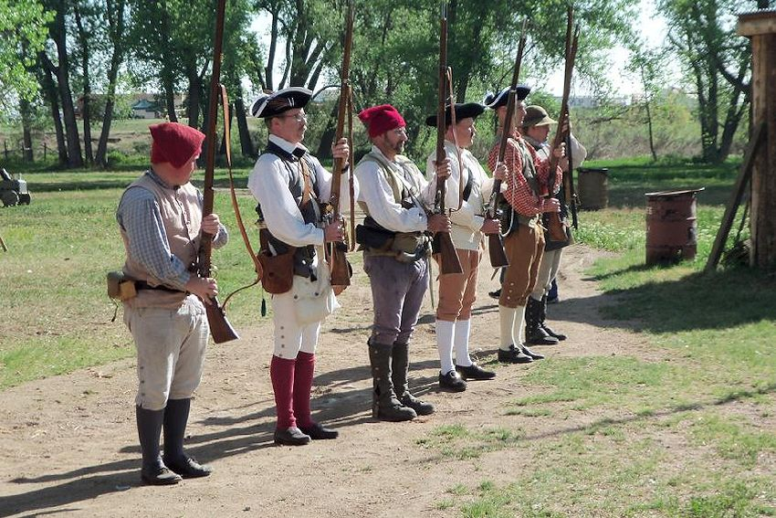 Colorado Colonial Encampment - Fort Lupton Encampment - Heritage Days & Colonial Encampment - Revolutionary War Reenactment