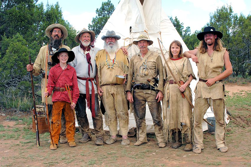 Cache le Plew Mountain Man Rendezvous - New Mexico Big Horn Gun Club - Torrance County Park - Cache le Plew Rendezvous
