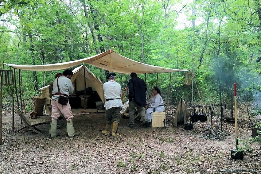 Comanche Peak Muzzleloaders Camp - Spring & Fall Rendezvous