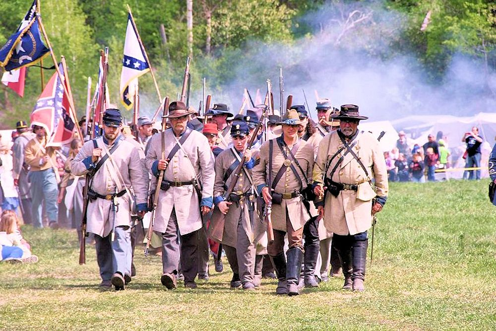 Battle of Deep Creek Reenactment