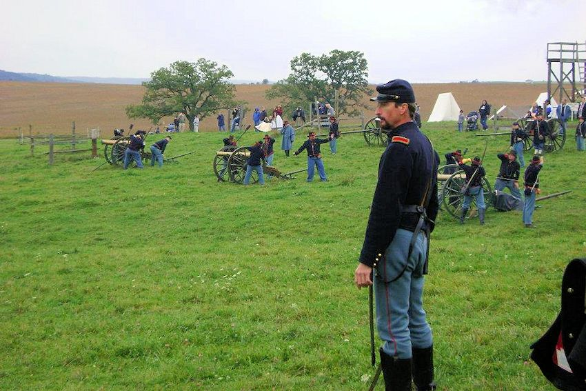 Battle of Morseville Civil War Reenactment - David Pierce Family - Old Pierce Farm