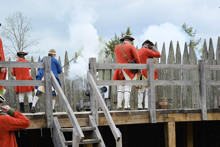 Fall Fort Loudoun Garrison Weekend - Fort Loudon State Historic Park - Fort Loudon Association