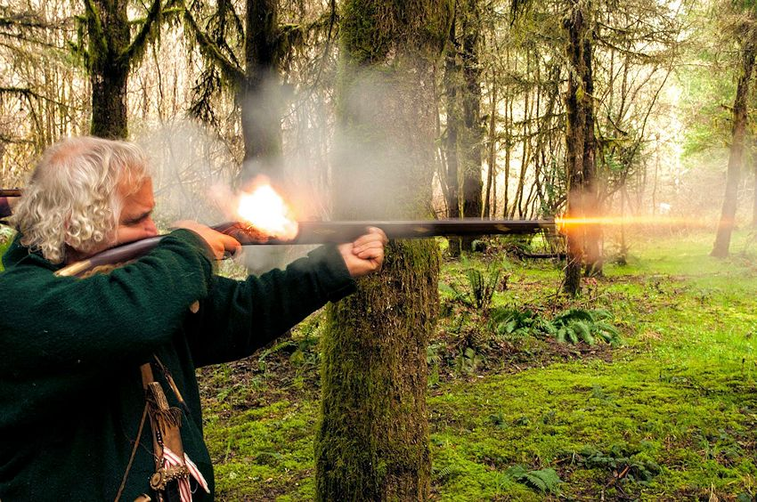 Jed Smith Mountain Men Tall Trees Rendezvous - Del Norte Rod and Gun Club