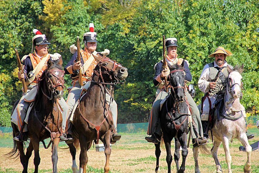 Mississinewa 1812 Battle Reenactment