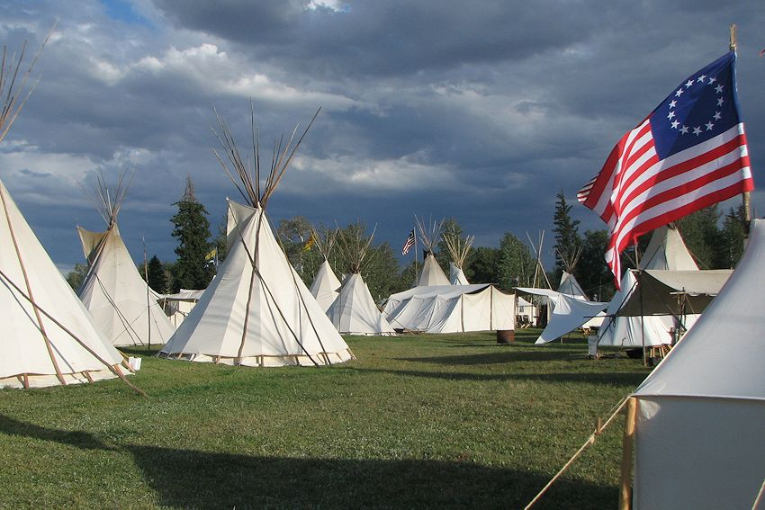 Fort Bridger Rendezvous - Ft Bridger, Wyoming