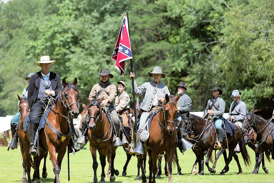 Battle of Dry Creek Reenactment - Civil War Reenactment