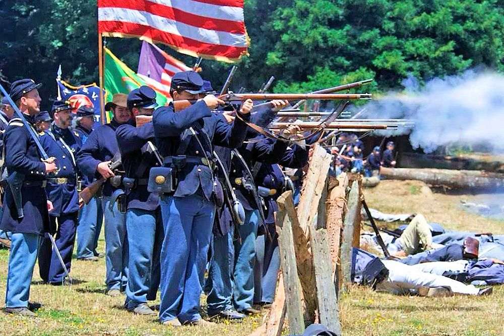 Duncans Mills Civil War Days Reenactment
