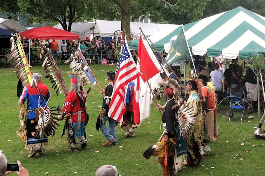 Grand Valley American Indian Lodge Pow Wow - Gathering Thunder Foundation - Riverside Park