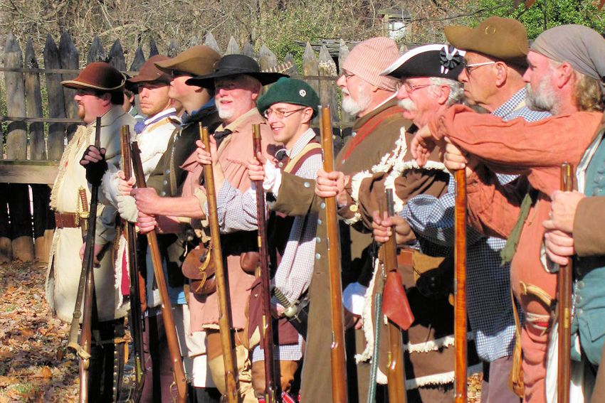 Horseshoe Militia Muster and Candlelight Tour