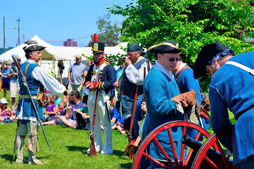 Rendezvous in the Sault - Sault Ste Marie City Hall Grounds - Chippewa County Historical Society
