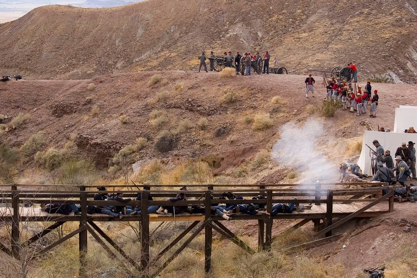 Calico Ghost Town Civil War Reenactment - American Civil War Society