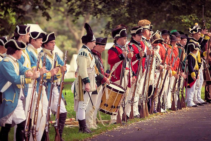Cantigny Revolutionary War Reenactment - North West Territory Alliance - Cantigny Park