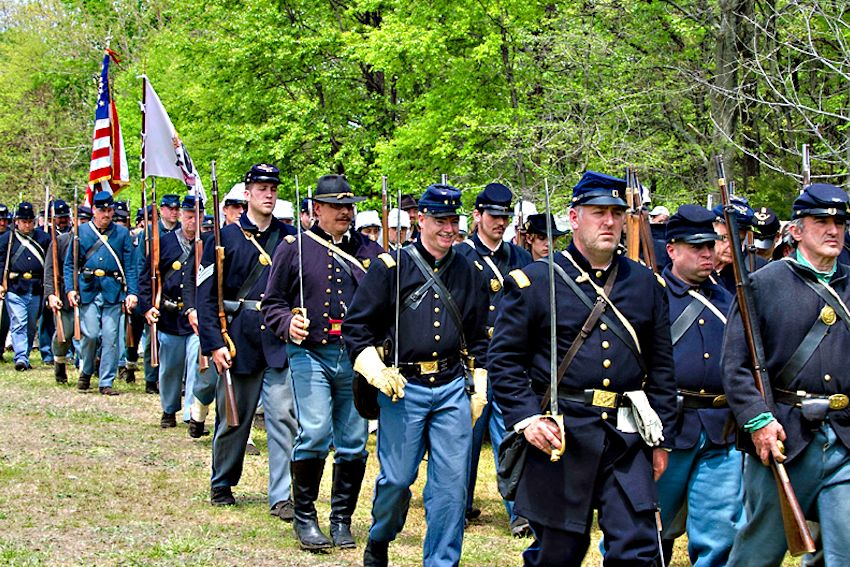 Huntington Beach Civil War Days Living History Event - Huntington Beach Central Park - Huntington Beach Historical Society