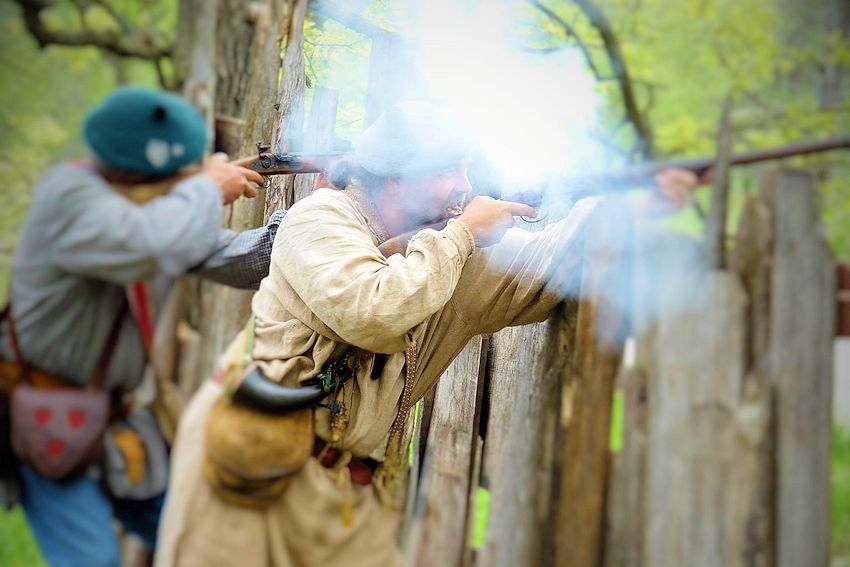 Plainsmen Black Powder Club Rendezvous - Plainsmen Black Powder Club Camp