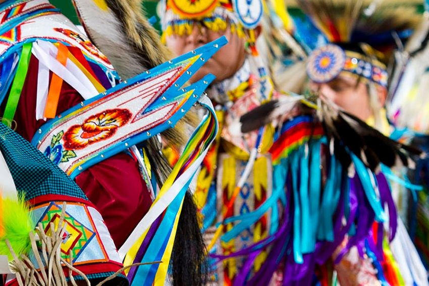 Sault Tribe New Years Eve Sobriety Powwow - JKL Bahweting Anishnabe Public School Academy - Sault Ste Marie Tribe of Chippewa Indians