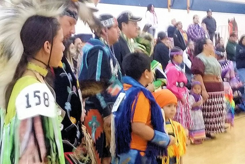 White Earth New Years Sobriety Pow Wow - Naytahwaush Sports Complex - White Earth Tribal Council