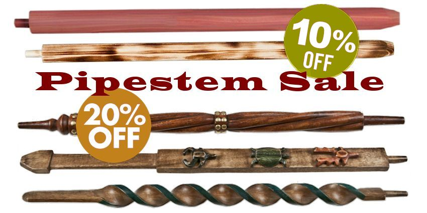 Native American Pipe Stems Sale - Crazy Crow Trading Post