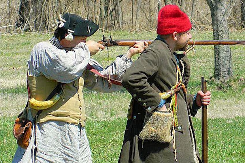 Fort de Chartres Colonial Trade Faire and Musket and Rifle Frolic - Chasseurs du Datchurat - Fort de Chartres State Historic Site