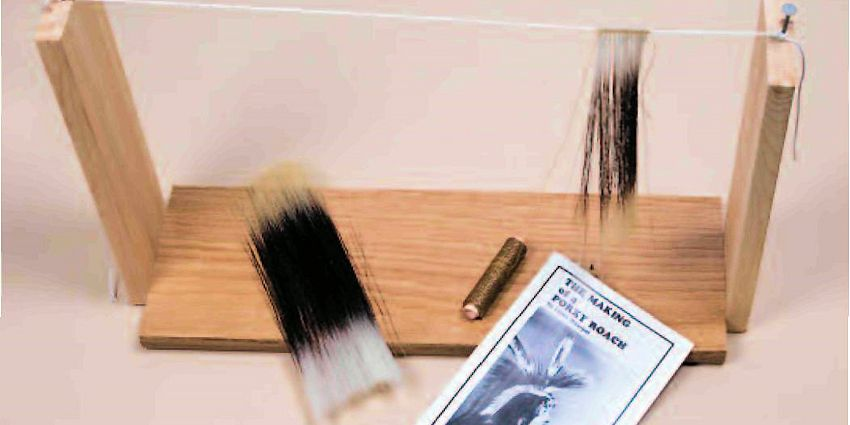 Using Imitation Porky Guard Hair Tips - Craft Article from Crazy Crow Trading Post