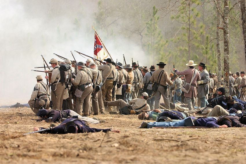 Battle of Aiken Reenactment - South Carolina Civil War Heritage Trails - Aiken Battleground