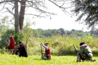 Second Seminole War Battle of Okeechobee Reenactment