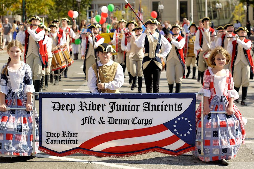 Deep River Ancient Muster - Devitt Field - Deep River Ancient Muster Committee - Deep River Junior Ancient Fife and Drum Corps - Deep River Drum Corps