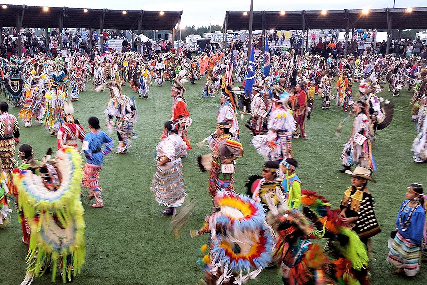 Mille Lacs Band of Ojibwe Grand Celebration Powwow - Grand Casino Hinckley Powwow Grounds - Mille Lacs Band of Ojibwe Grand Celebration Committee