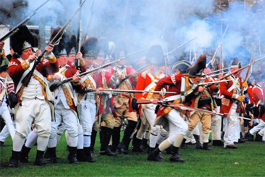 Battle on Lexington Green Reenactment - Patriots Day Events