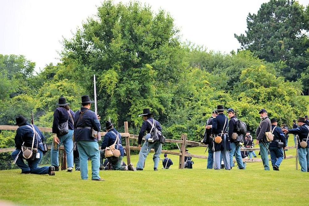 Lombards Civil War Reenactment