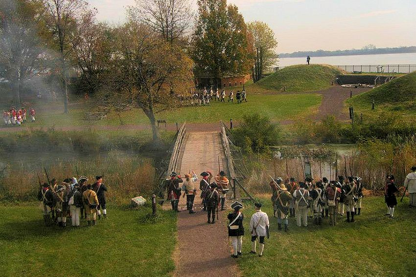 Siege of Fort Mifflin Reenactment - Fort Mifflin on the Delaware - Olde Fort Mifflin Historical Society