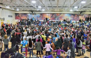 Shonto New Years Pow Wow - Shonto Preparatory School - Shonto Preparatory School Gymnasium
