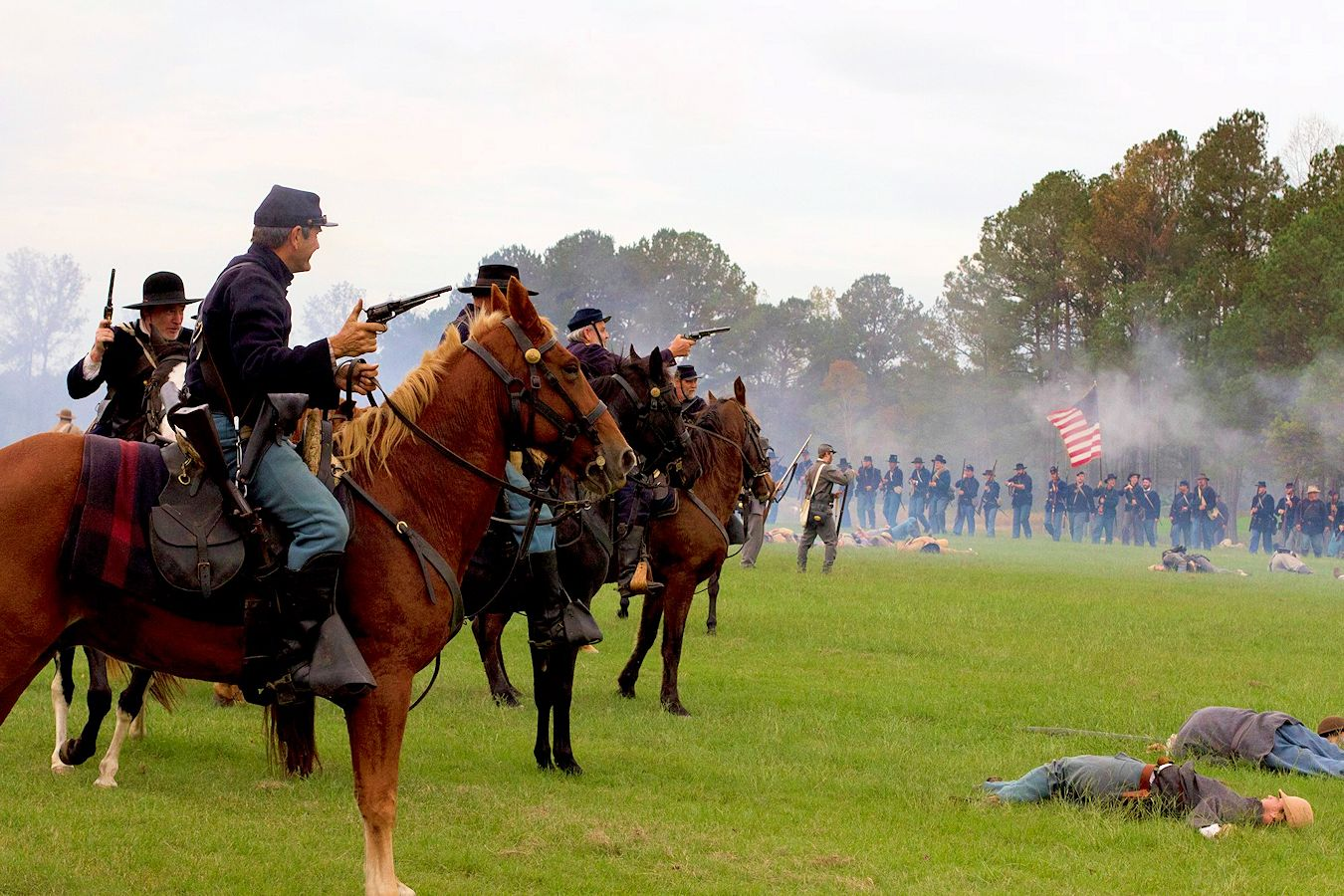 Battles for the Armory Reenactment
