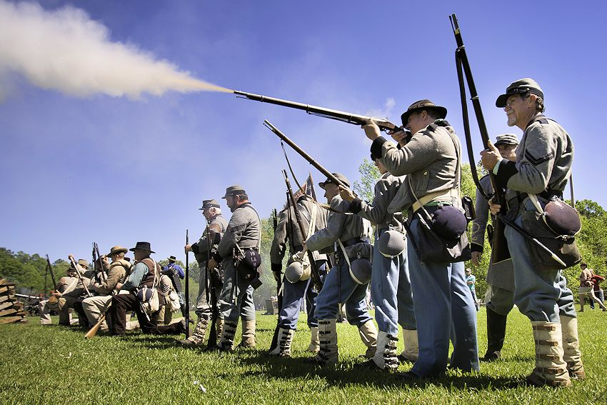 Civil War Siege of Port Hudson Reenactment - Port Hudson State Historic Site