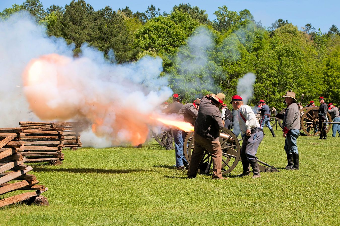 Civil War Siege of Port Hudson Reenactment
