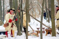 Old Fort Niagara Winter Woods BattleOld Fort Niagara Winter Woods BattleOld Fort Niagara Winter Woods Battle