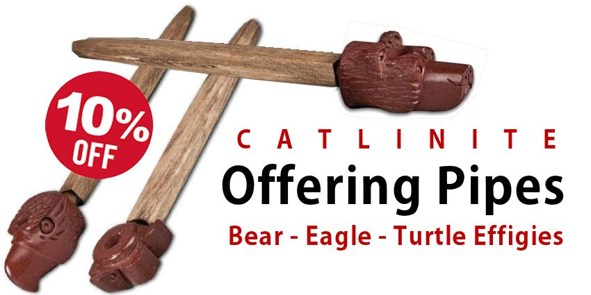 Catlinite Offering Pipes Sale