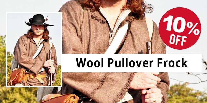 Wool Pullover Hunting Frock Sale