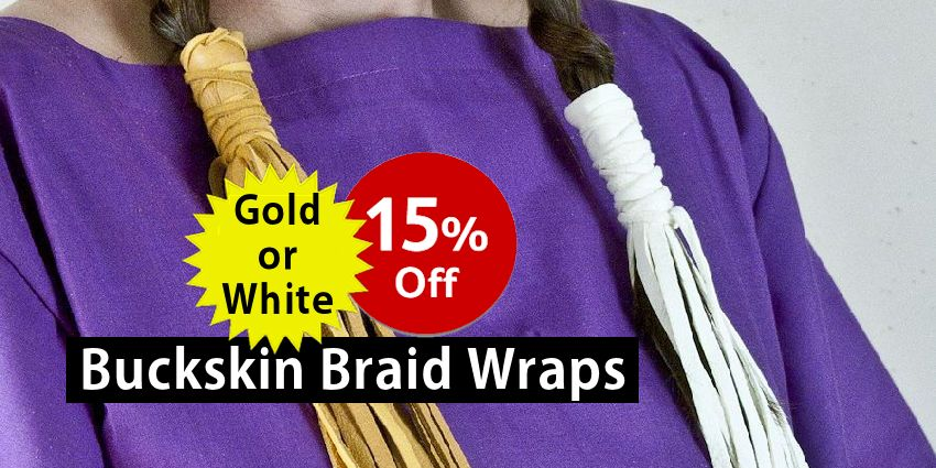 Buckskin Braid Wraps Crow Calls Sale