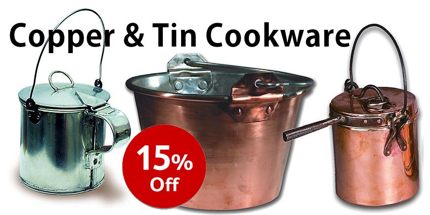 Camp Copper & Tinware Sale