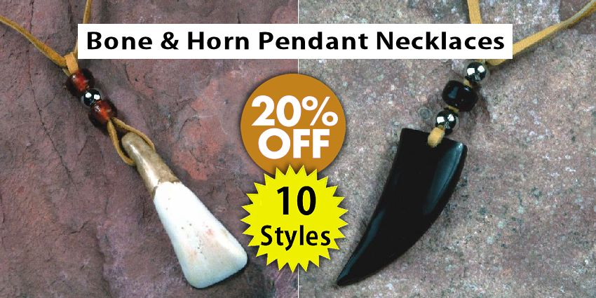 Genuine Bone & Horn Pendants Crow Calls Sale