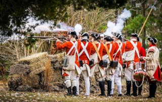 Battle of Great Bridge Reenactment - Battlefield Park South - Chesapeake Department of Parks, Recreation and Tourism