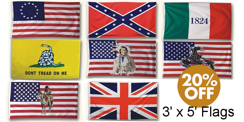 Historic Flags in America