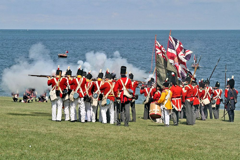 Old Fort Niagara War of 1812 Encampment
